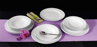 seltmann weiden paso weiss uni tafelservice rund 12 tlg neu ebay. Black Bedroom Furniture Sets. Home Design Ideas