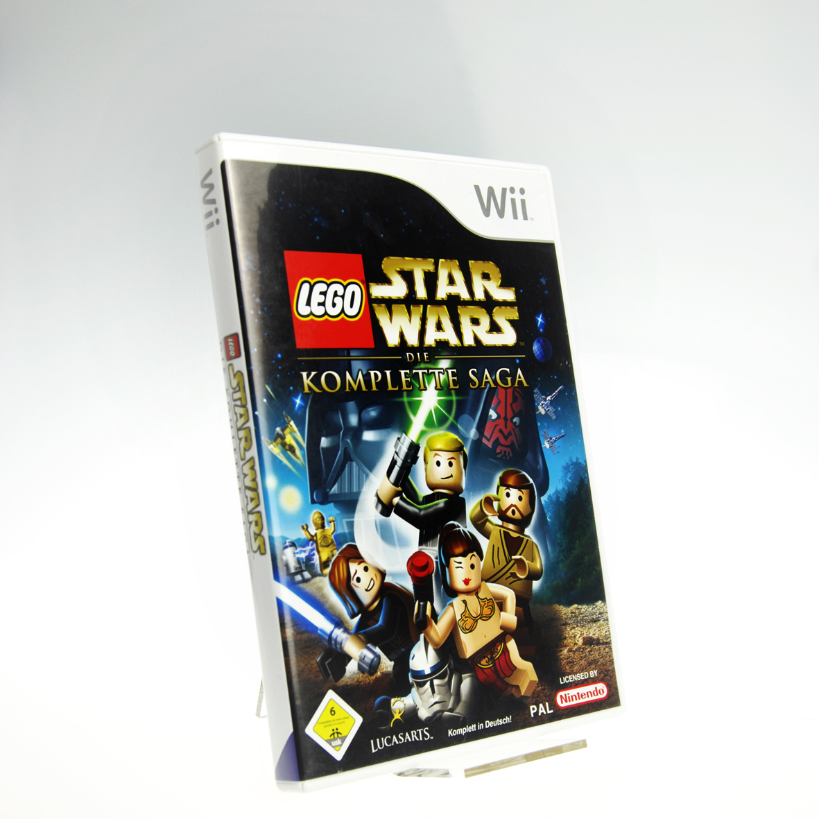 wii lego star wars die komplette saga ovp ohne anl 0023272004637 ebay. Black Bedroom Furniture Sets. Home Design Ideas
