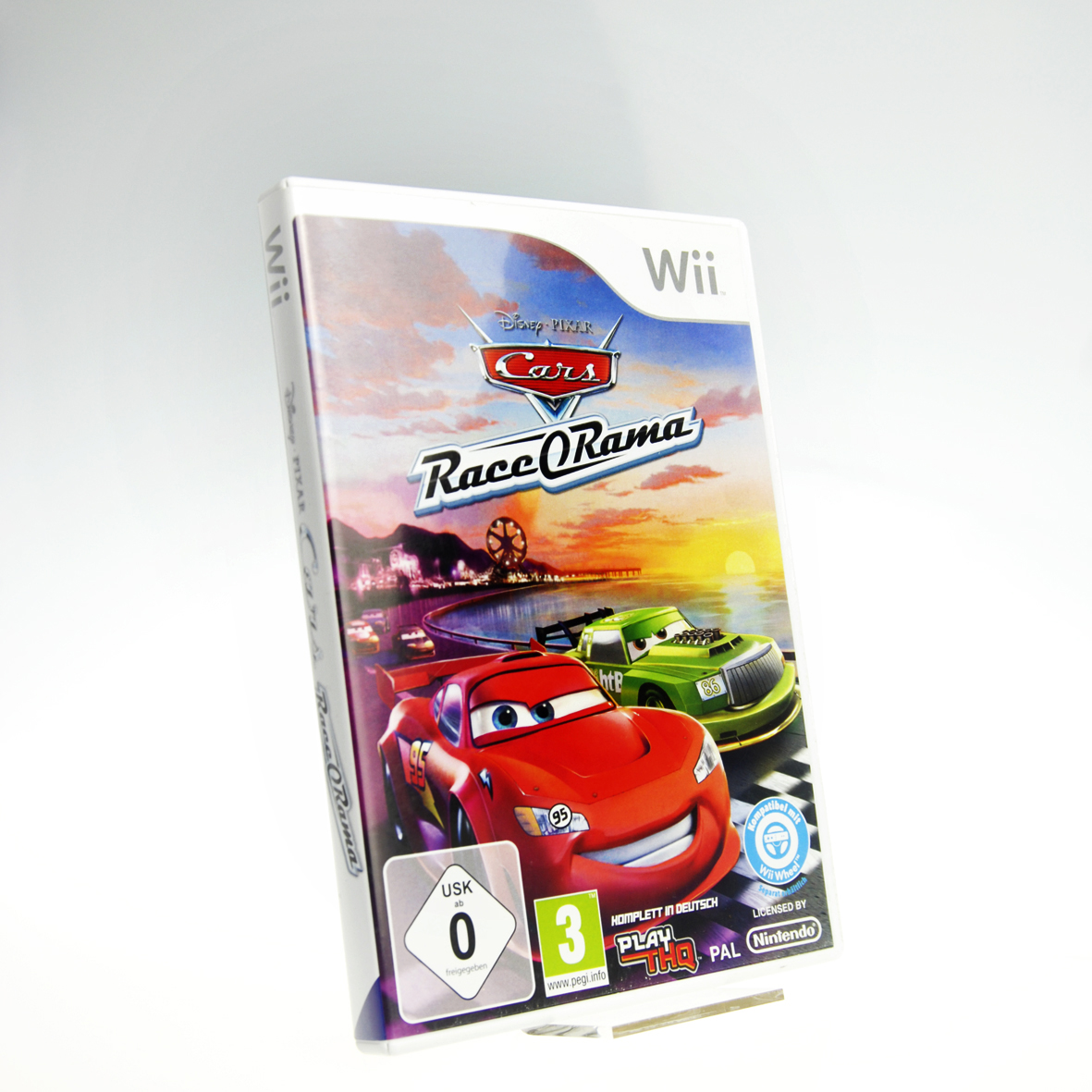 wii cars race o rama ovp ohne anleitung 4012160010764 ebay. Black Bedroom Furniture Sets. Home Design Ideas