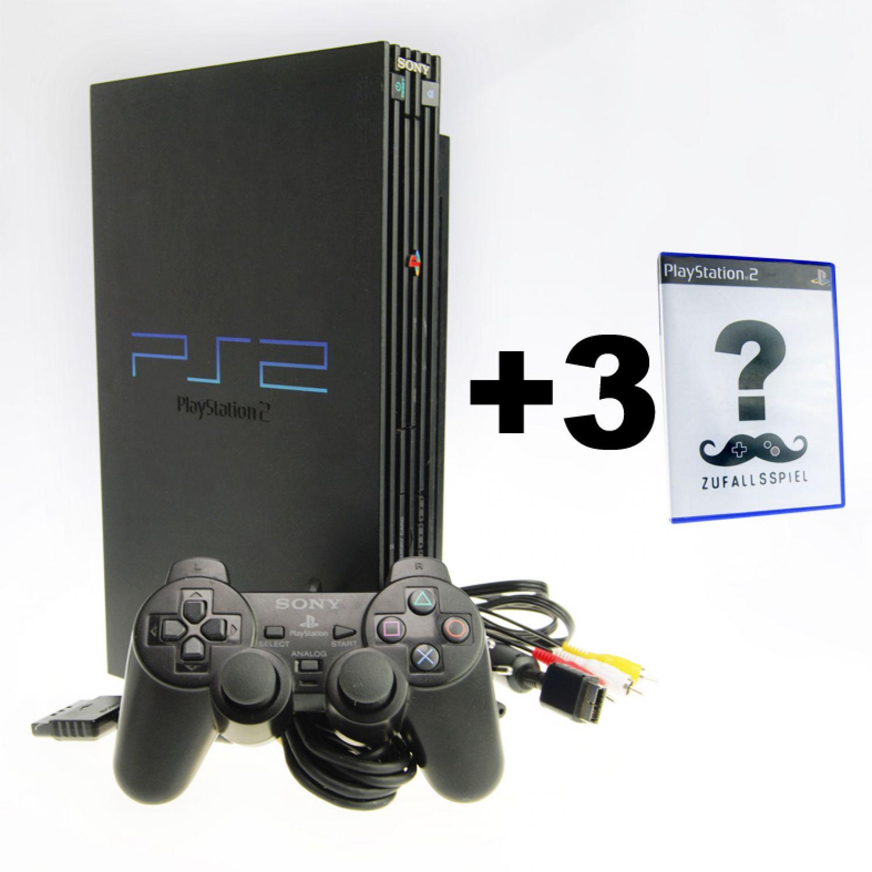 ps 2 konsole set mit vielen spielen ua tekken gta 1. Black Bedroom Furniture Sets. Home Design Ideas