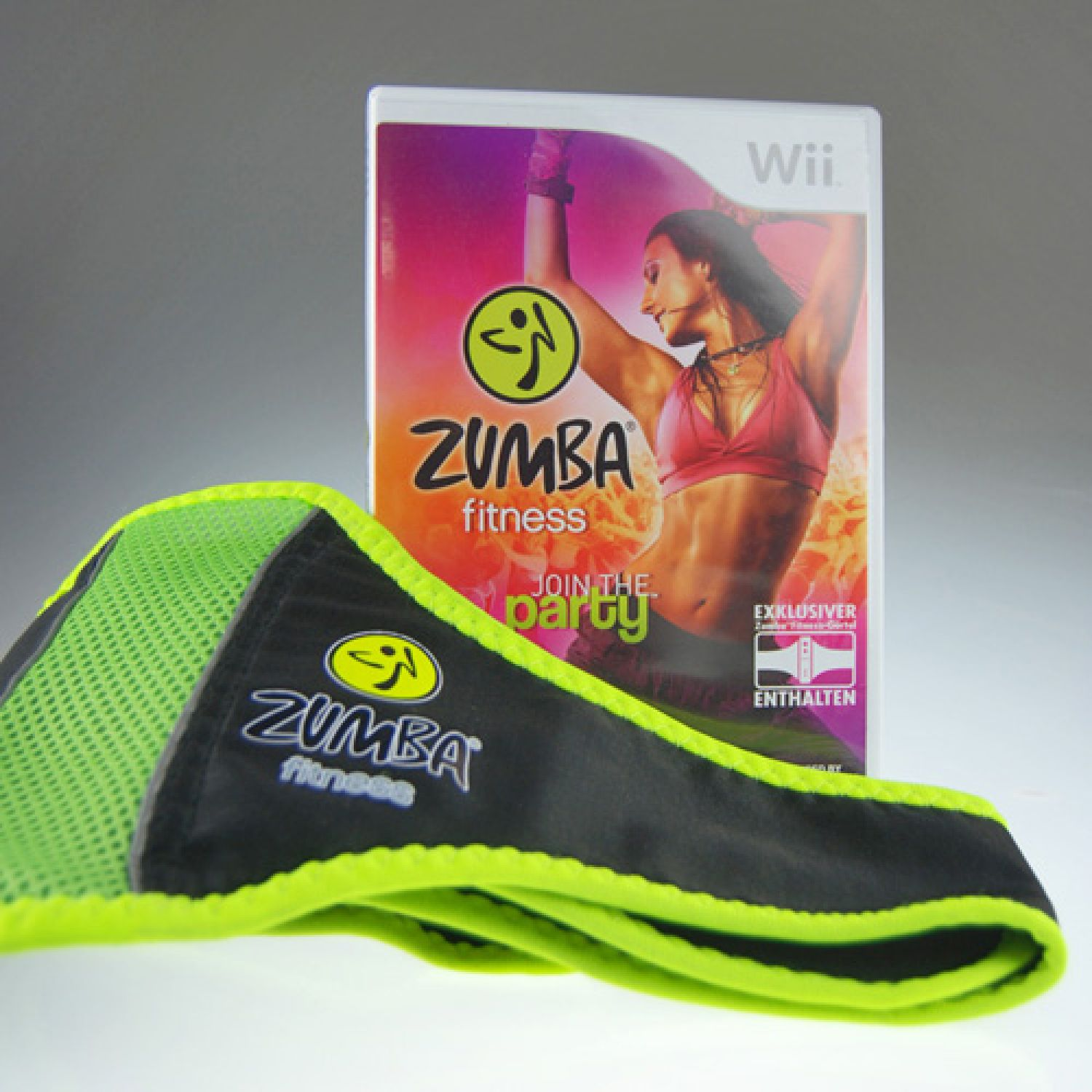 nintendo wii spiel zumba fitness join the party mit ovp gut ebay. Black Bedroom Furniture Sets. Home Design Ideas