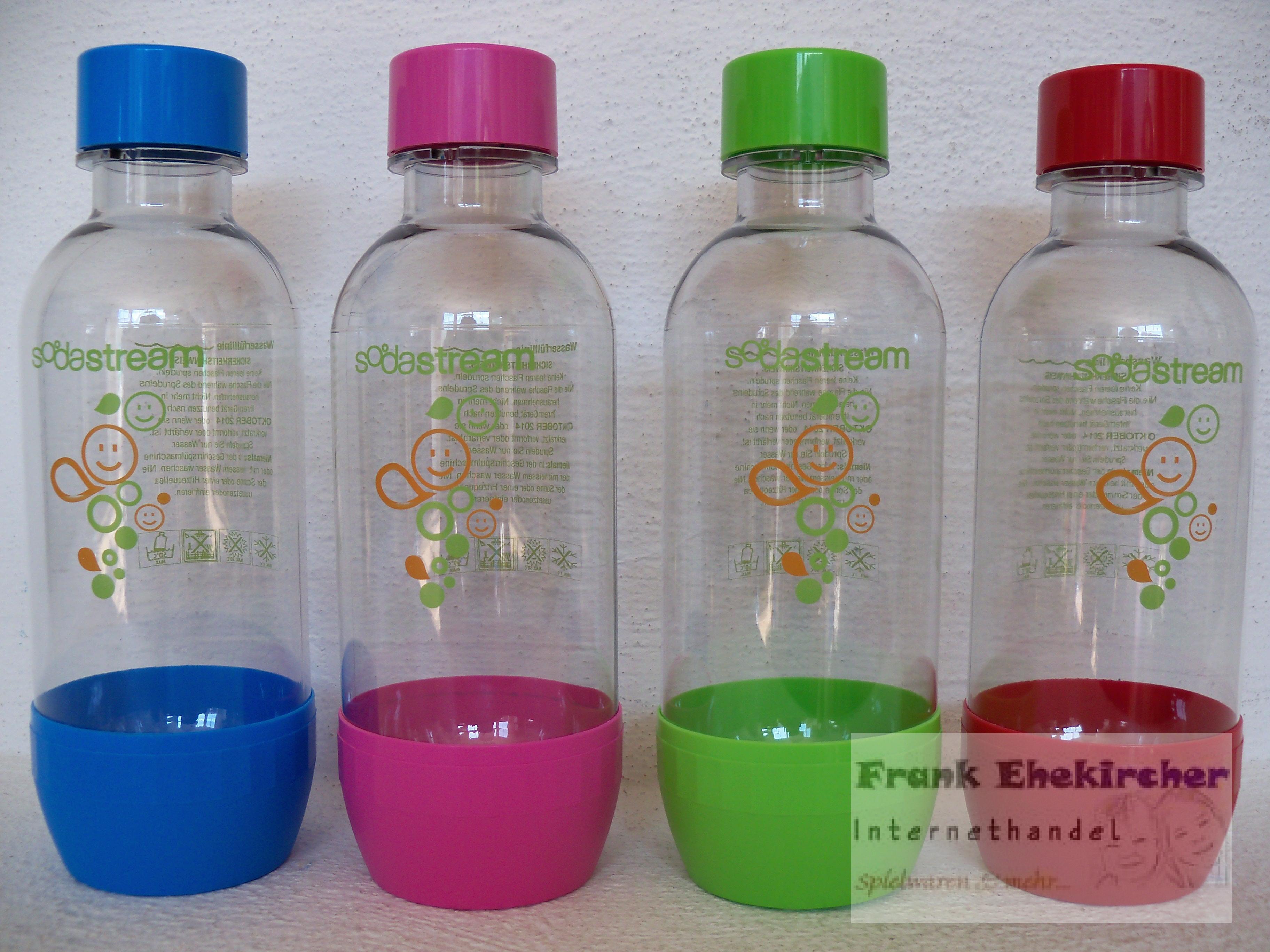 sodastream pet flasche 0 5l farbe w hlbar neu ovp soda stream ebay. Black Bedroom Furniture Sets. Home Design Ideas