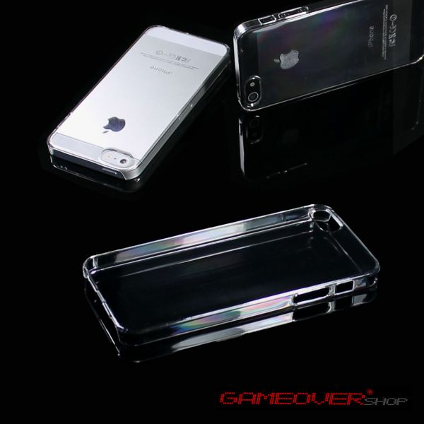 Crystal Hard Case Schutz Hülle Cover Ultra Transparent Clear Dünn für iPhone 5
