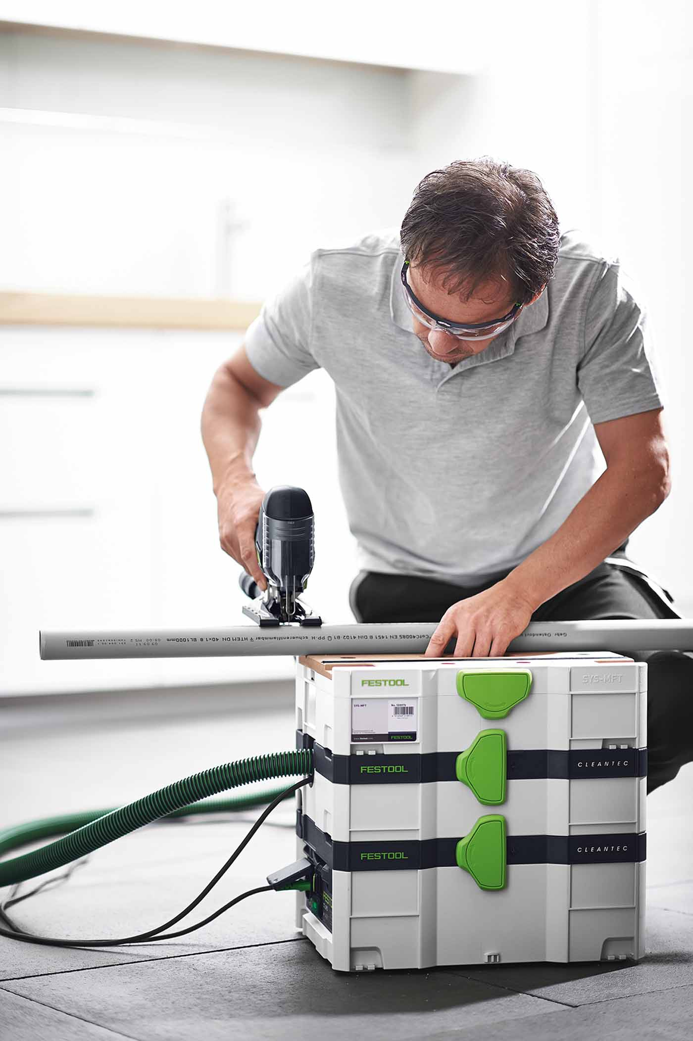 festool staubsauger im systainer absaugmobil ctl sys cleantec nr 584173 ebay. Black Bedroom Furniture Sets. Home Design Ideas