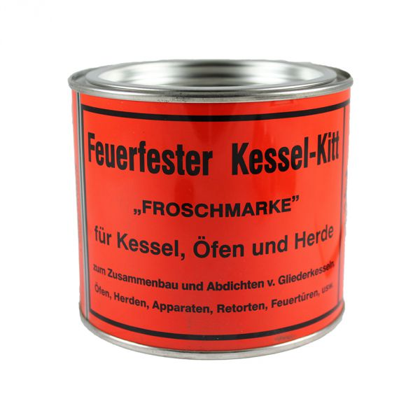 kesselkitt kessel kit ofenkitt dichtungskitt feuerfest froschmarke 1000g 1kg neu. Black Bedroom Furniture Sets. Home Design Ideas