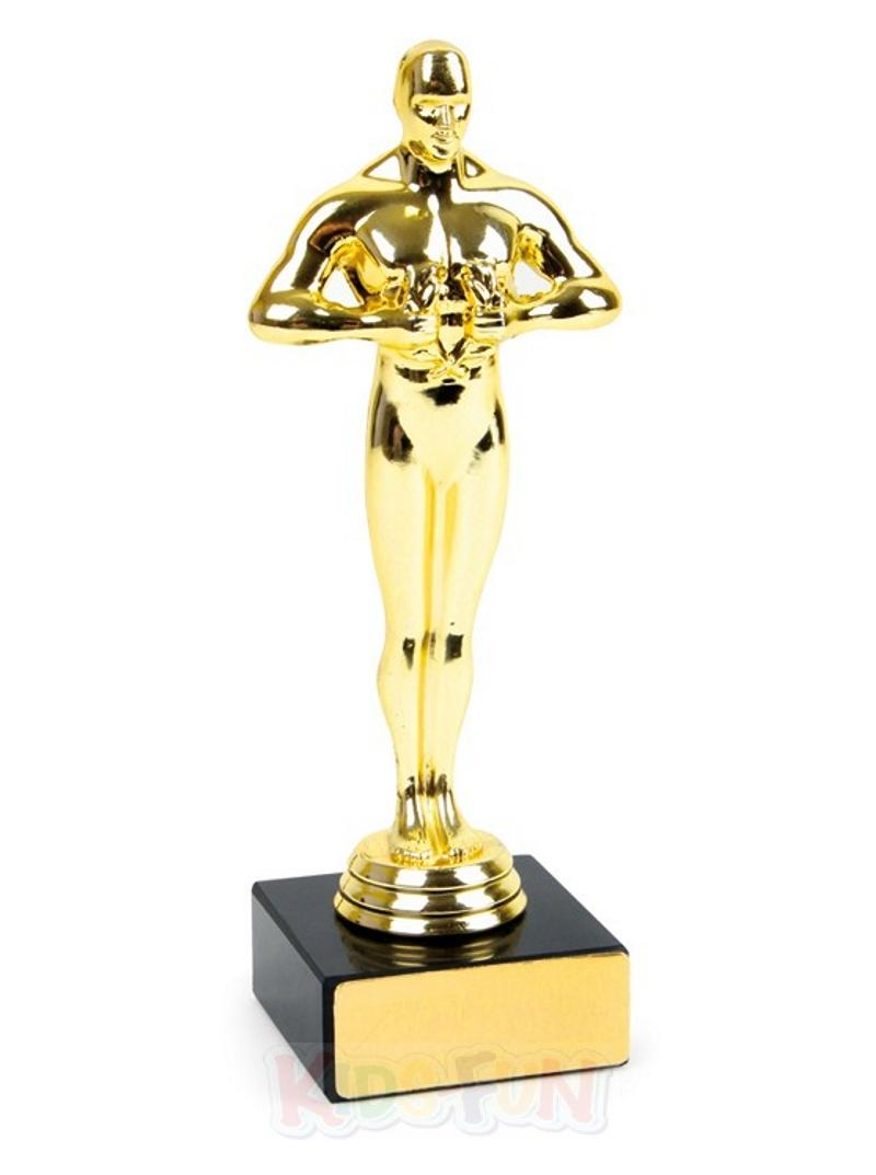 film statue wie oscar gold figur award auszeichnung kino hollywood deko geschenk ebay. Black Bedroom Furniture Sets. Home Design Ideas