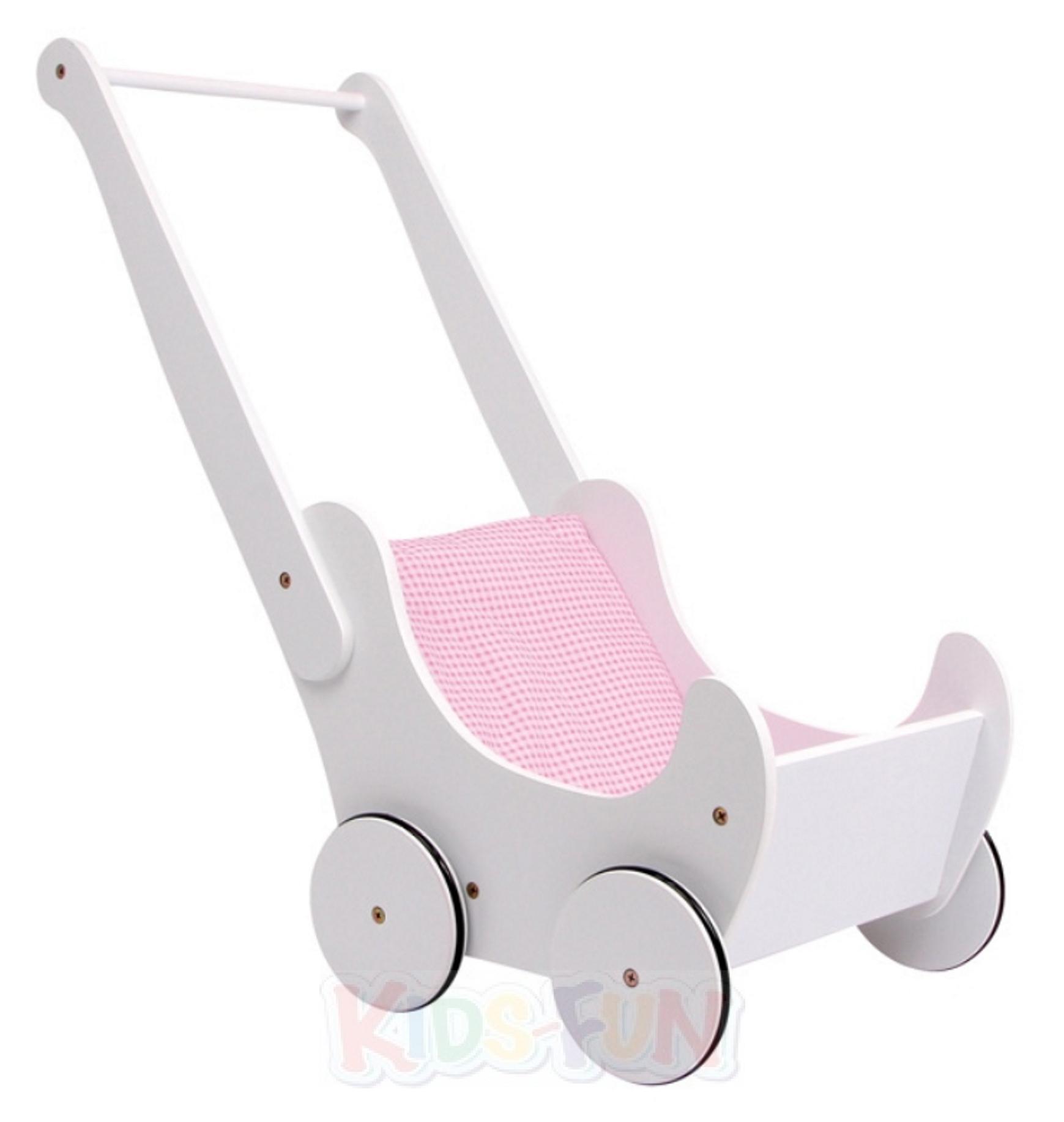 lauflernwagen lauflernhilfe oder puppenwagen holz baby steckspiel gehfrei puppen ebay. Black Bedroom Furniture Sets. Home Design Ideas