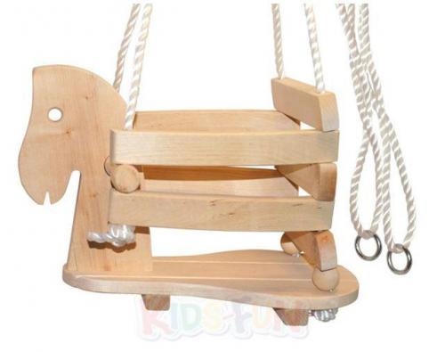 Schaukelpferd Kleinkind Holz ~ Details zu Holz Pferdeschaukel Schaukel Pferd Holzschaukel Kleinkind