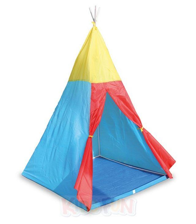 indianer zelt tipi indianerzelt kinderzelt wigwam kinderzimmer tippi spielzelt ebay. Black Bedroom Furniture Sets. Home Design Ideas