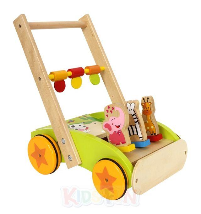 Lauflernwagen Holz Puppenwagen ~ Lauflernwagen Lauflernhilfe oder Puppenwagen Holz Baby Steckspiel