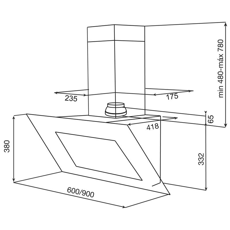 Dunstabzugshaube Montagehöhe dunstabzugshaube umluft 60 cm edelstahl angebote auf waterige