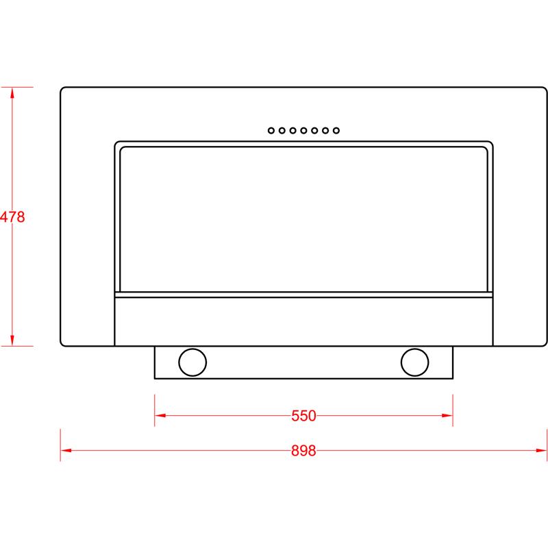 dunstabzugshaube kopffrei anzu schwarz glas edelstahlkamin. Black Bedroom Furniture Sets. Home Design Ideas