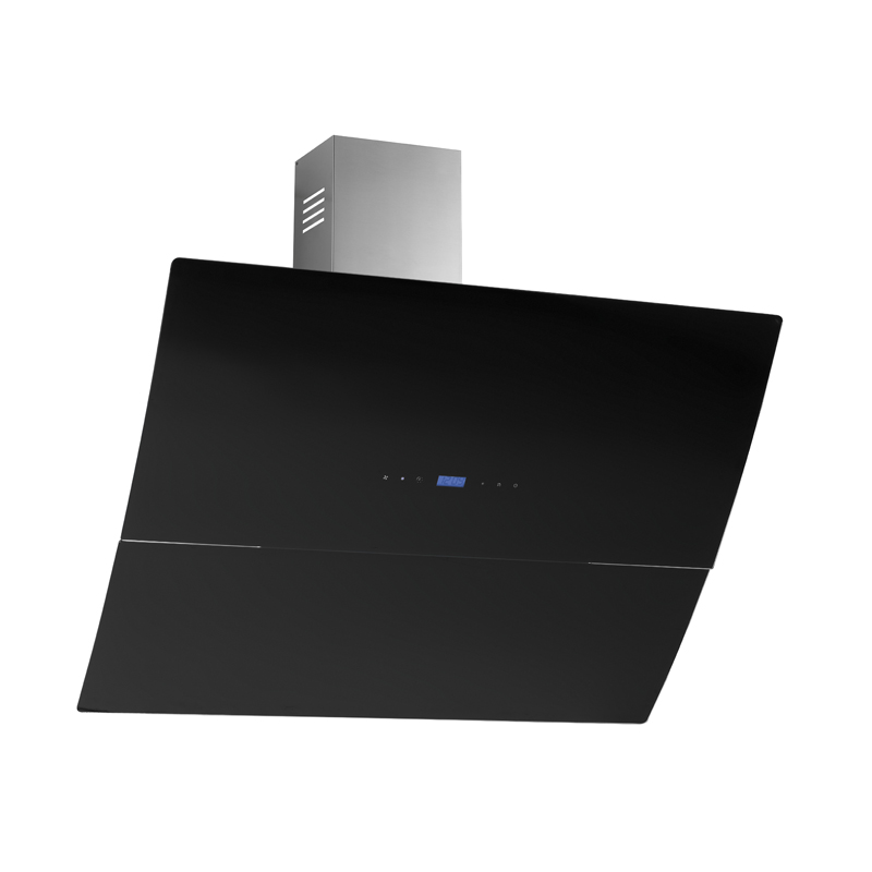 dunstabzugshaube kopffreihaube mirta edelstahl schwarz glas 90 cm abluft 650 m ebay. Black Bedroom Furniture Sets. Home Design Ideas