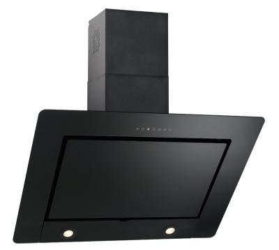 dunstabzugshaube kopffrei cypris 90 cm schwarz glas 800 cbm h abluft umluft ebay. Black Bedroom Furniture Sets. Home Design Ideas