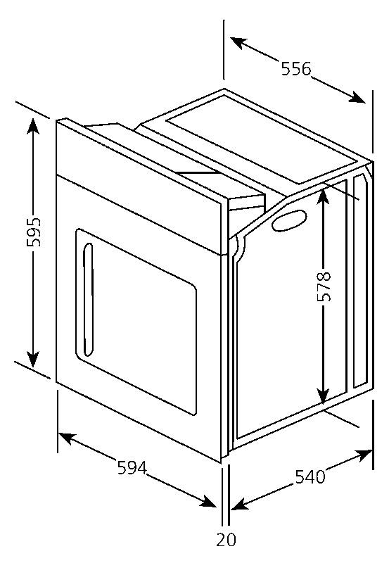 einbauherd 50 cm breit einbauherd 50 cm breit im. Black Bedroom Furniture Sets. Home Design Ideas