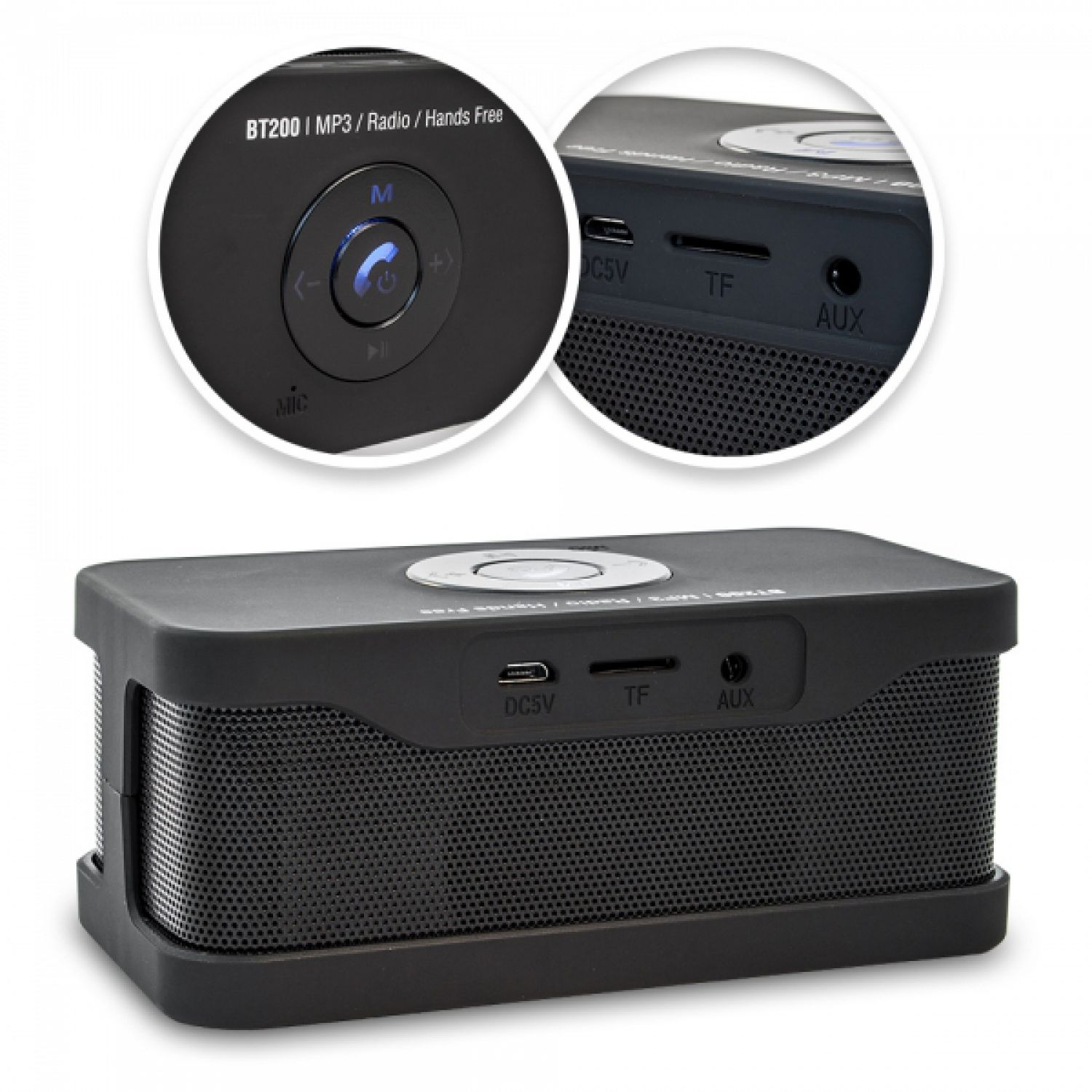 bluetooth speaker lautsprecher tragbar usb micro sd aux radio smartphone blow ebay. Black Bedroom Furniture Sets. Home Design Ideas