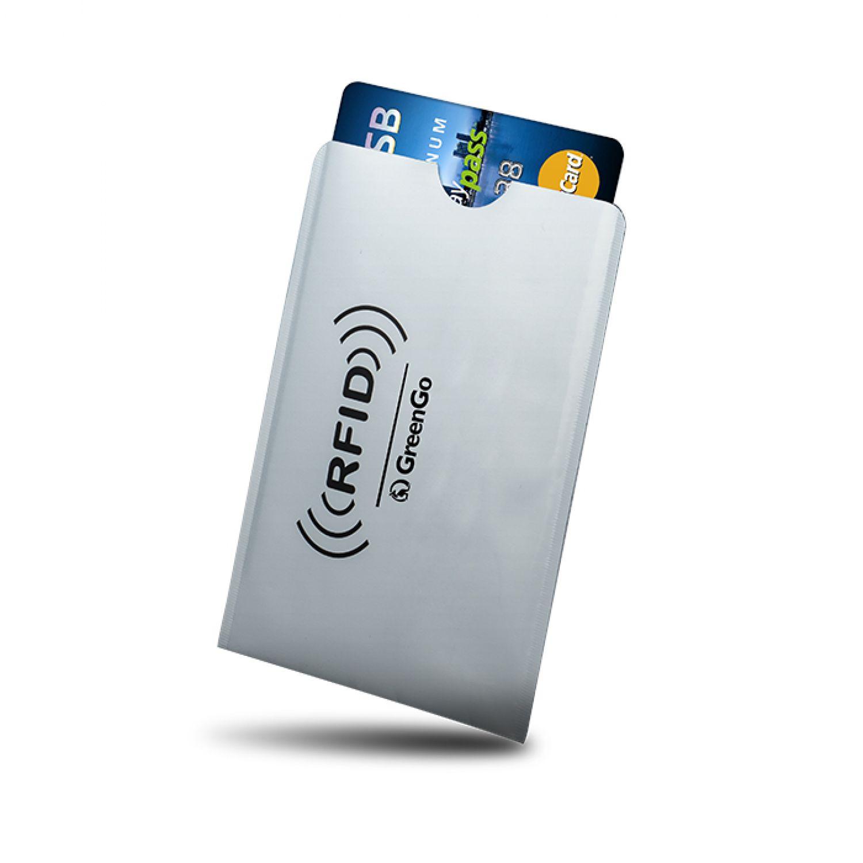 rfid nfc schutzh lle ec karte kreditkarte ausweis blocker. Black Bedroom Furniture Sets. Home Design Ideas