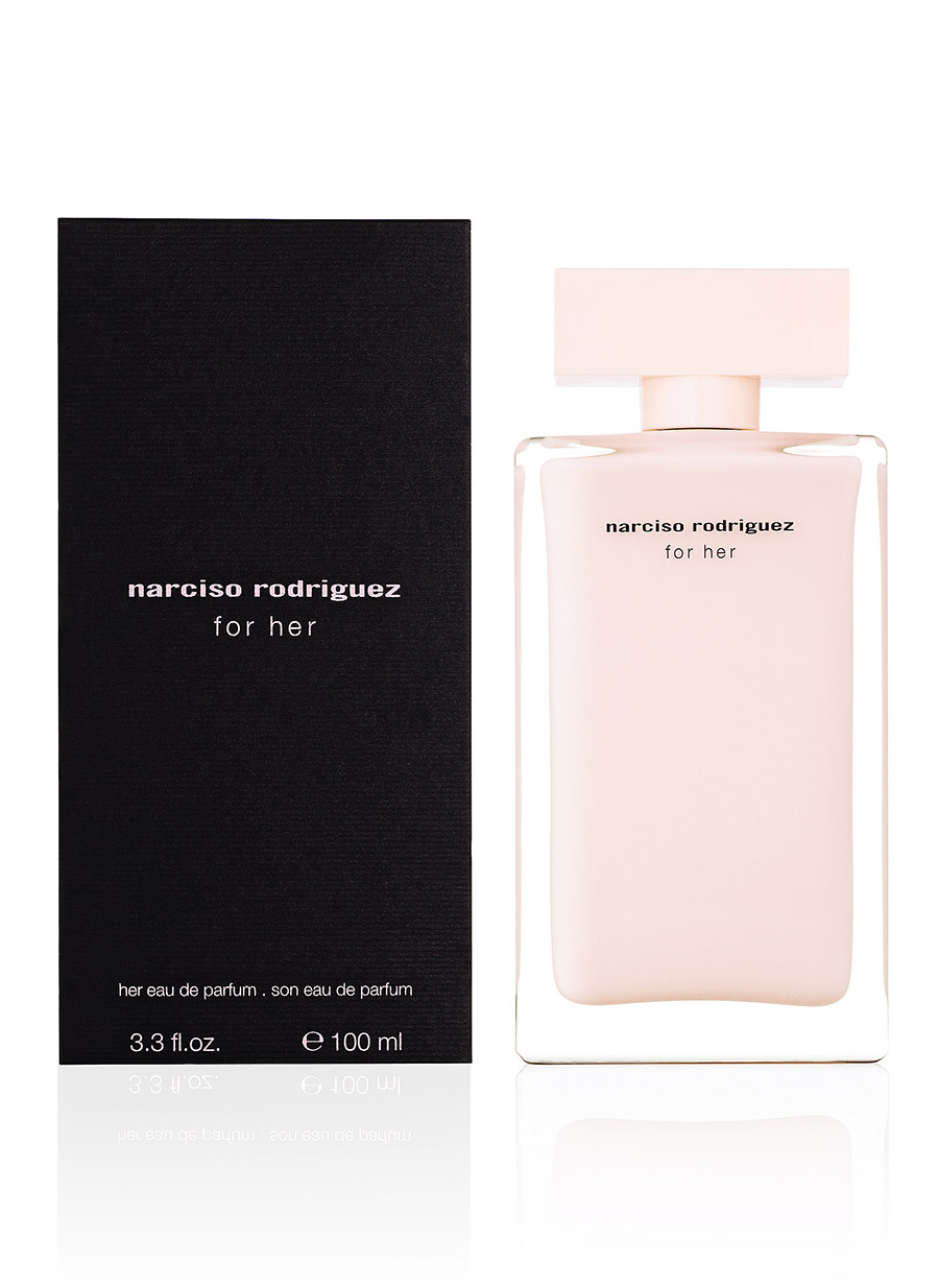 narciso rodriguez for her eau de parfum edp 100ml 3423470890129 ebay. Black Bedroom Furniture Sets. Home Design Ideas