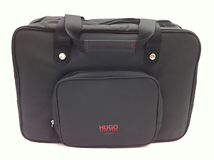 hugo boss just different night out case tasche schwarz ebay. Black Bedroom Furniture Sets. Home Design Ideas