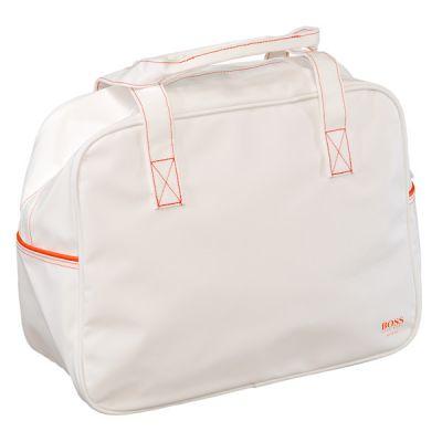hugo boss orange tasche sport reisetasche wei neu ebay. Black Bedroom Furniture Sets. Home Design Ideas