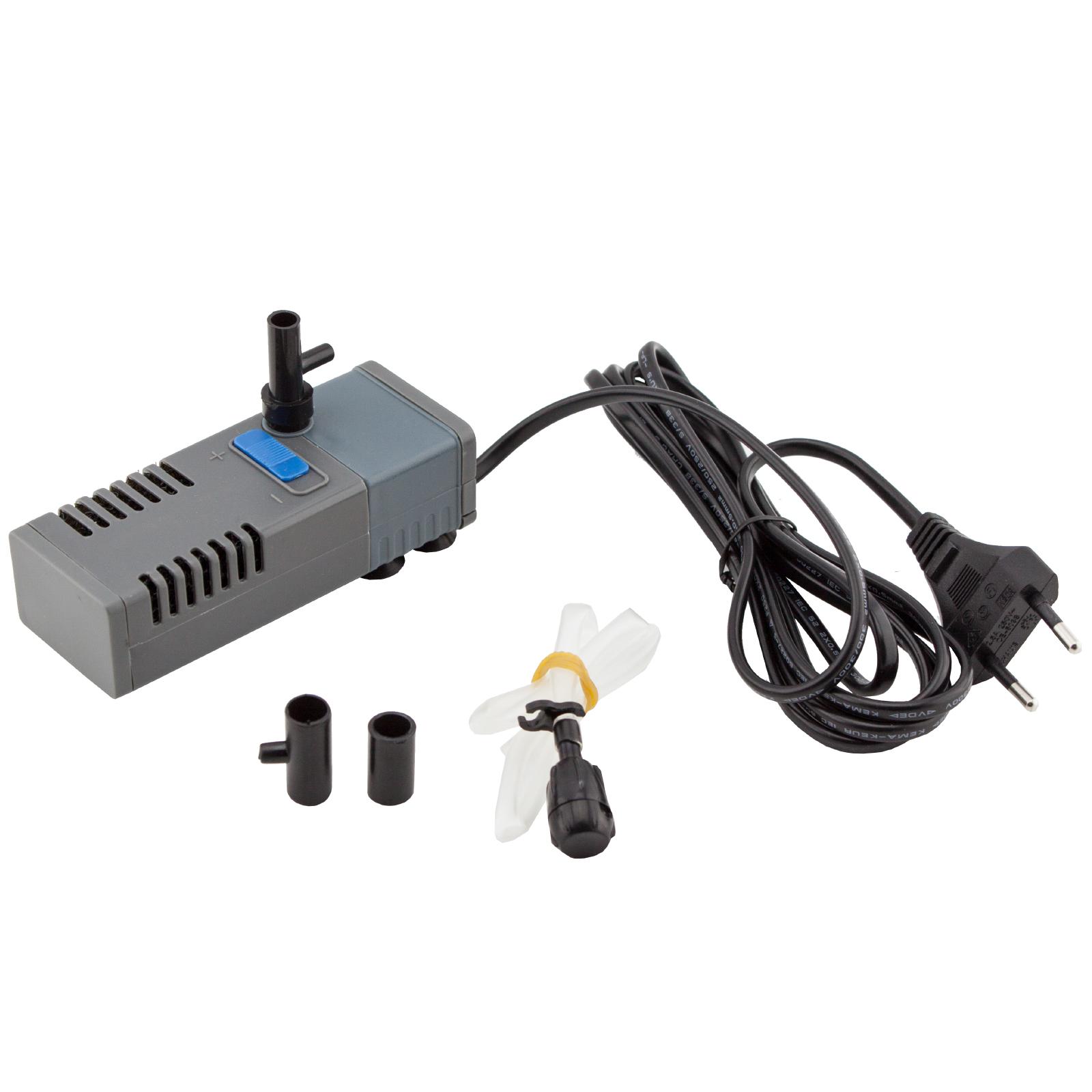 Unterschiedlich JAD SP-601F Aquarium Pumpe m. Filter Innenfilter mit Luftschlauch  EV81