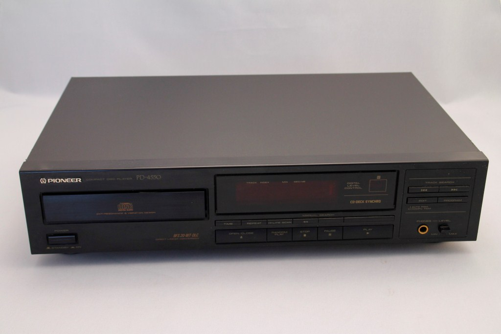 pioneer pd 4550 cd player schwarz gebraucht gut ebay. Black Bedroom Furniture Sets. Home Design Ideas