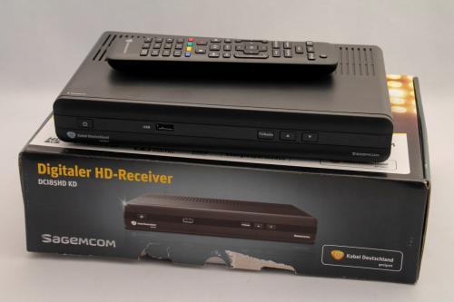 sagemcom kabel deutschland receiver dci85hd kd gebraucht sehr gut ebay. Black Bedroom Furniture Sets. Home Design Ideas