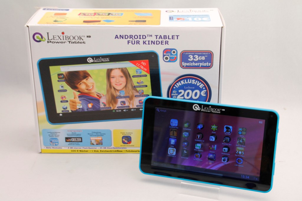 lexibook hd mfc162de power tablet android tablet f r. Black Bedroom Furniture Sets. Home Design Ideas