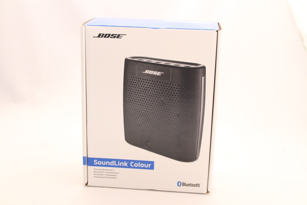 bose soundlink colour bluetooth lautsprecher schwarz neu ovp ebay. Black Bedroom Furniture Sets. Home Design Ideas