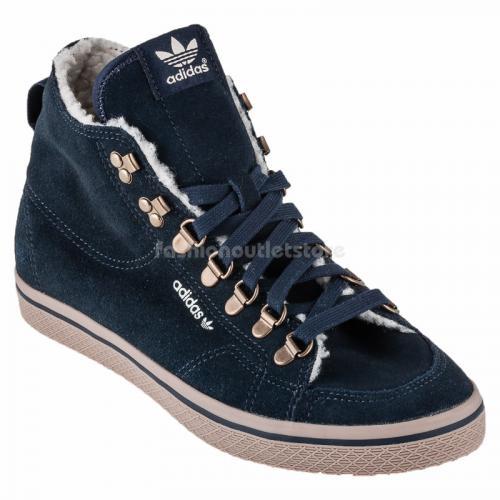6350c114c4c5 Das Bild wird geladen ADIDAS-G63034-Damen-Schuhe -Winterschuhe-Sneaker-Outdoor-Sport-