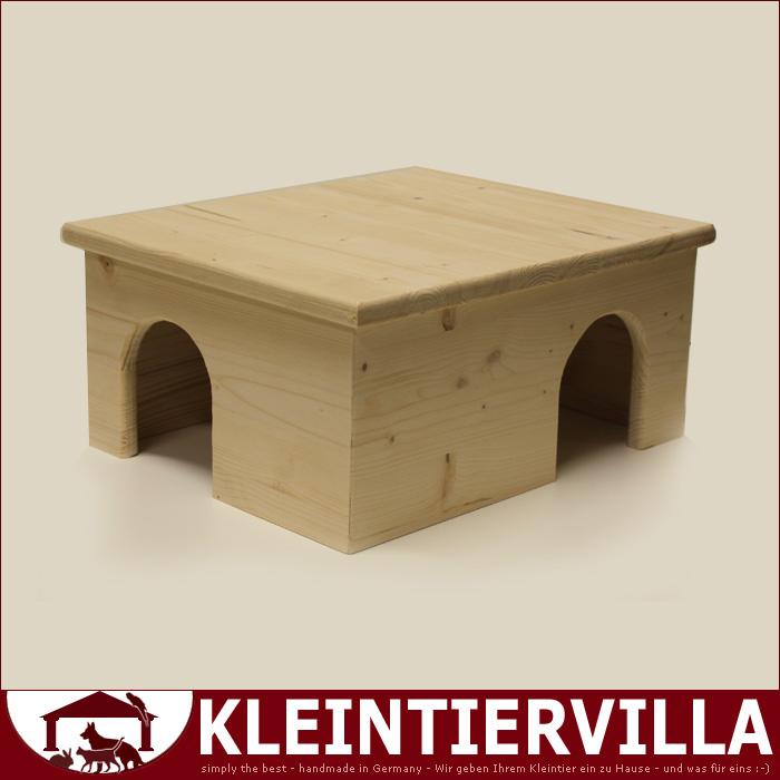 haus xl meerschweinchen hamster maus haus holz neu top tiere schlafhaus ebay. Black Bedroom Furniture Sets. Home Design Ideas