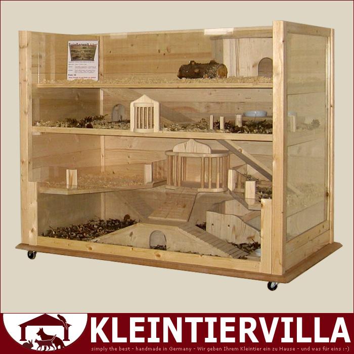 spie erwelt meerschweinchen hamster maus holzk fig k fig holz edel neu top ebay. Black Bedroom Furniture Sets. Home Design Ideas