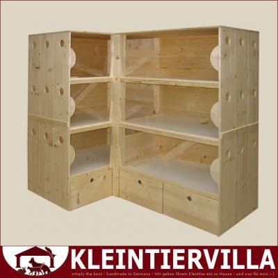 villa xl megagross 5 50m zwergkaninchen meerschweinchen. Black Bedroom Furniture Sets. Home Design Ideas