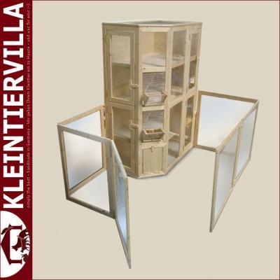 mel mit gehege megagross 2 80m zwergkaninchen meerschweinchen k fig holz neu ebay. Black Bedroom Furniture Sets. Home Design Ideas