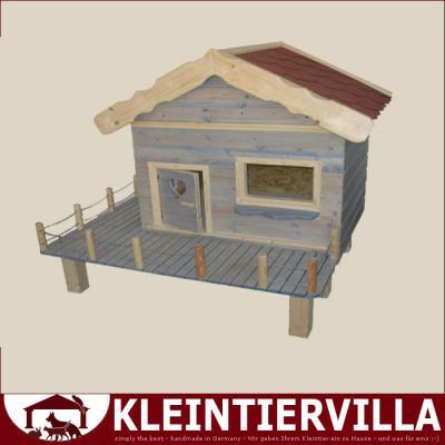 villa sonnenschein wetterfester aussenstall kaninchen. Black Bedroom Furniture Sets. Home Design Ideas
