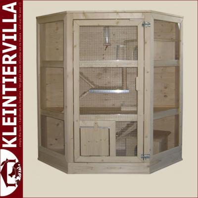 josy alu 2 10m zwergkaninchen meerschweinchen k fig holz neu aluschutz deckel ebay. Black Bedroom Furniture Sets. Home Design Ideas