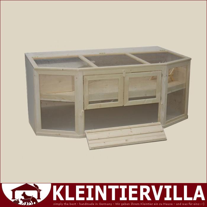 villa celine 2 40m f r meerschweinchen kaninchen k fig. Black Bedroom Furniture Sets. Home Design Ideas