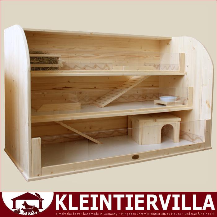 nathalie gks 3 1 60m meerschweinchen k fig holz neu. Black Bedroom Furniture Sets. Home Design Ideas
