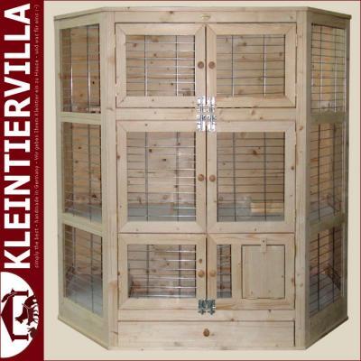 villa klopfer megagross 2 50m meerschweinchen zwergkaninchen k fig holz neu ebay. Black Bedroom Furniture Sets. Home Design Ideas