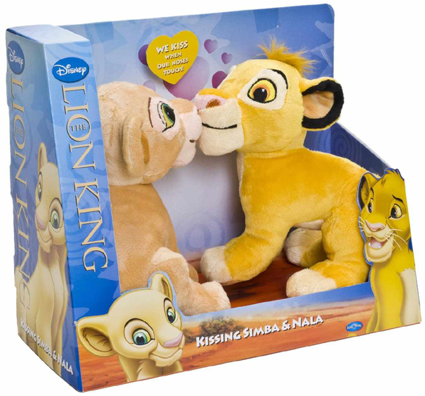 joy toy 22300 pl schfiguren simba und nala 23 cm ebay. Black Bedroom Furniture Sets. Home Design Ideas