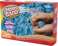 Wabafun 73041 - shape it - Moonsand - Vorteilspackung 2270 g blau