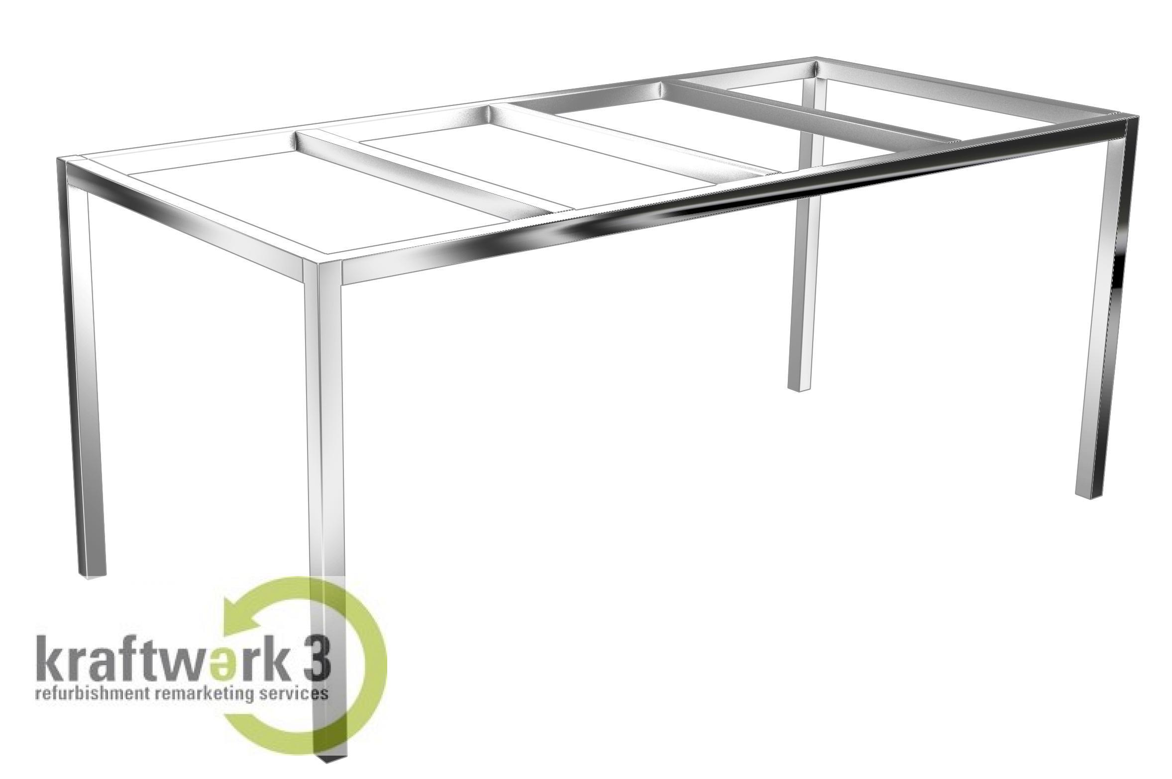 ikea table frame torsby base without tabletop chromed new ebay. Black Bedroom Furniture Sets. Home Design Ideas