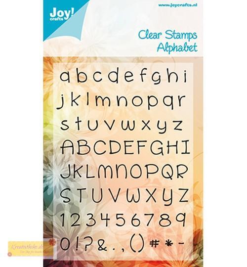 joy crafts stempel buchstaben alphabet 2 6410 0034 abc. Black Bedroom Furniture Sets. Home Design Ideas