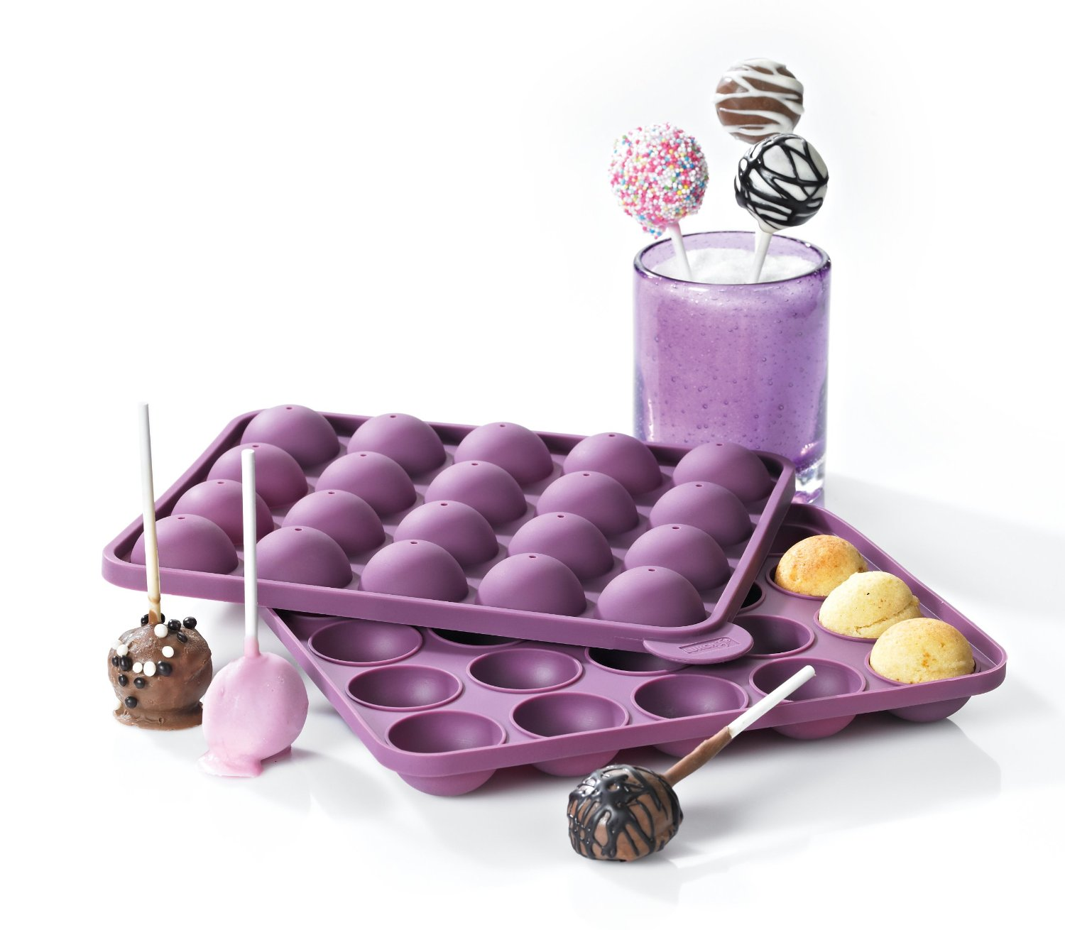 neu lurch flexiform backform cake pops kuchen kugeln kuchenlolli stiele. Black Bedroom Furniture Sets. Home Design Ideas