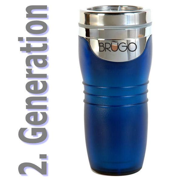 neu 2 generation brugo thermobecher 360ml coffee to go alle farben ebay. Black Bedroom Furniture Sets. Home Design Ideas