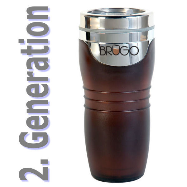 neu 2 generation brugo thermobecher 360ml coffee to go. Black Bedroom Furniture Sets. Home Design Ideas