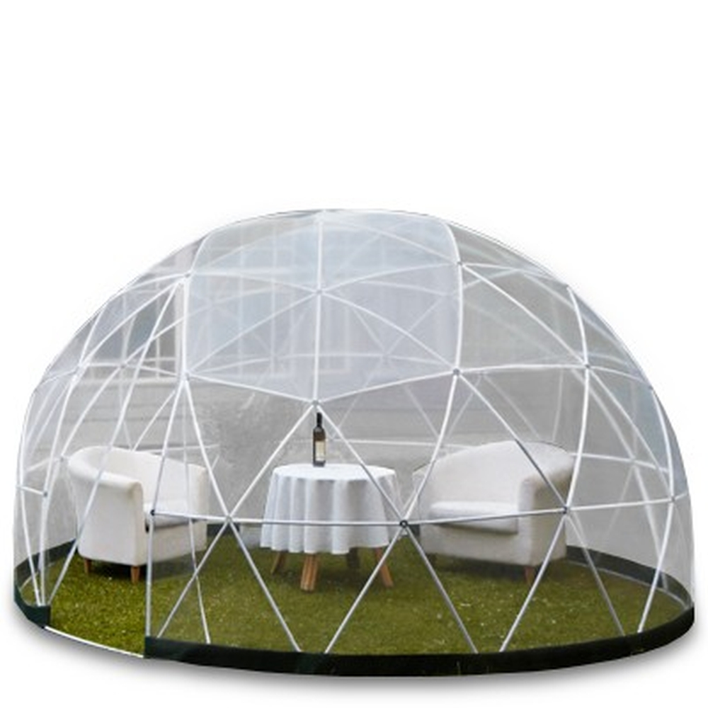 neu 10qm garden igloo 4 jahreszeiten 360 wintergarten pavillon gew chshaus ebay. Black Bedroom Furniture Sets. Home Design Ideas