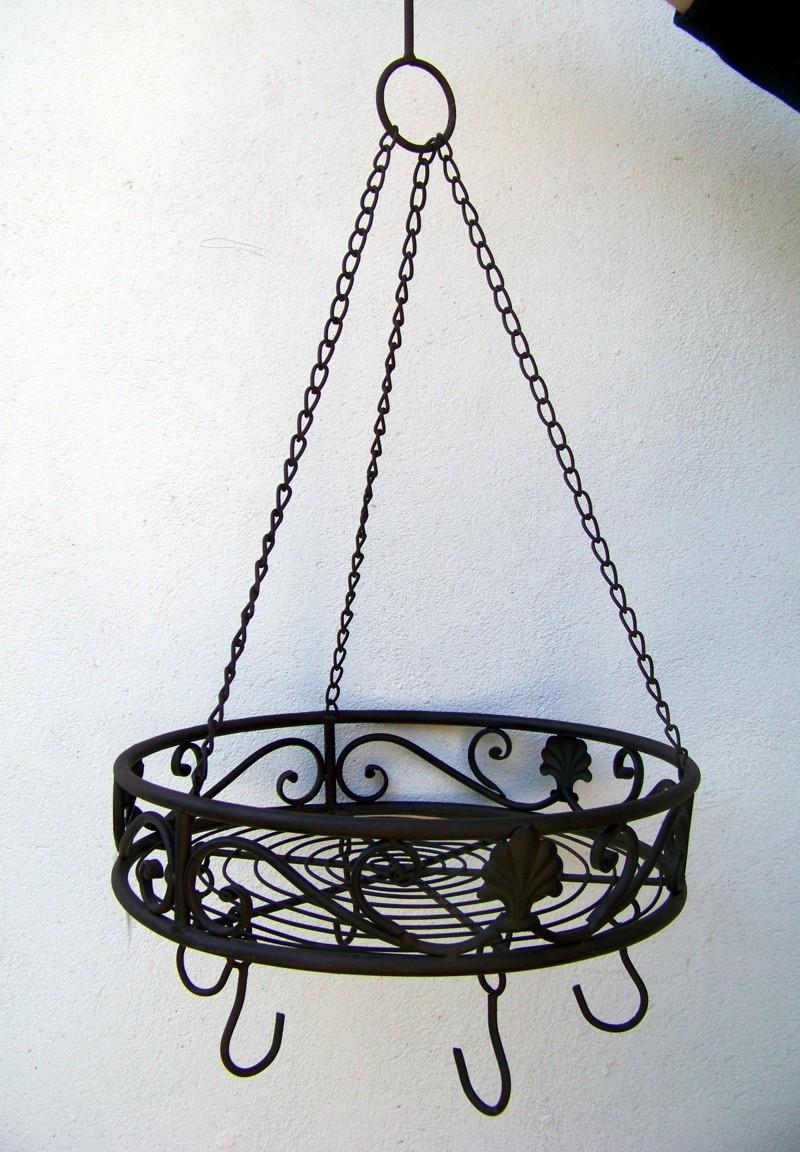 landhaus küchenkrone rund *neu* kräuterkrone - hängekorb