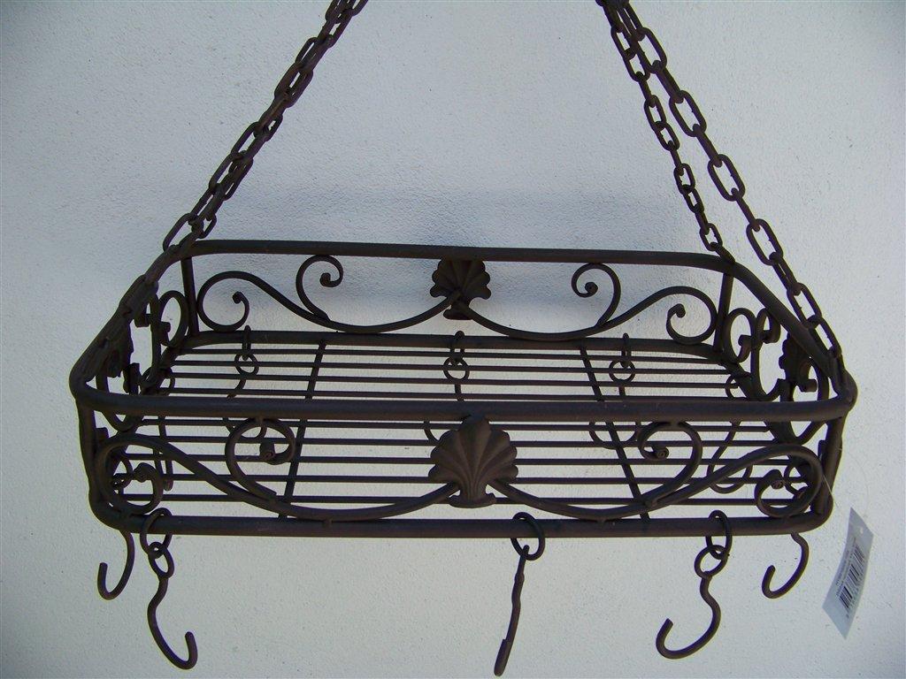 landhaus küchenkrone rechteckig neu kräuterkrone - hängekorb