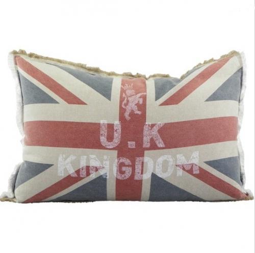 Kissen vintage union jack 40x60 cm neu dekokissen england for Fenster 40x60